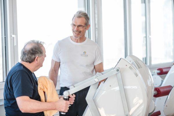3G Regel in Fitnessstudios