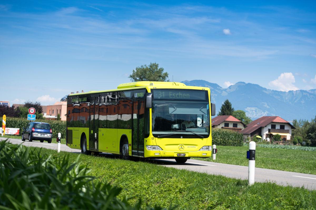 LIEmobil verzeichnet eine Steigerung der Passagierzahlen