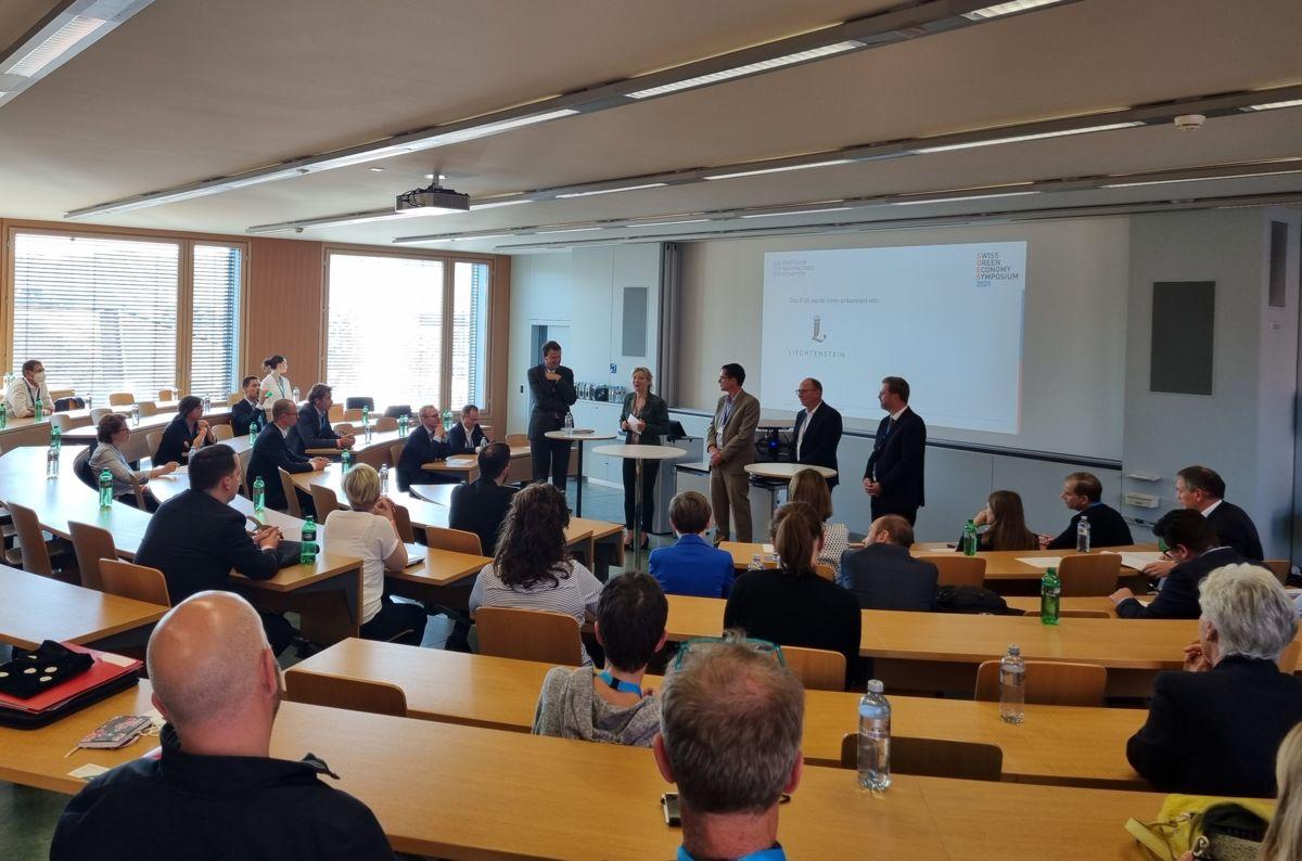 Liechtensteiner Unternehmen präsentieren Nachhaltigkeitsstrategien am SGES 2021