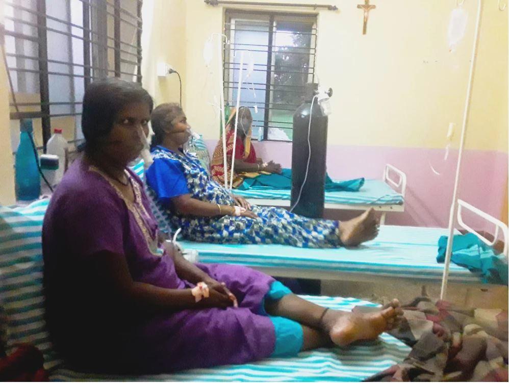 Spendentag: Sauerstoffversorgung für Indien