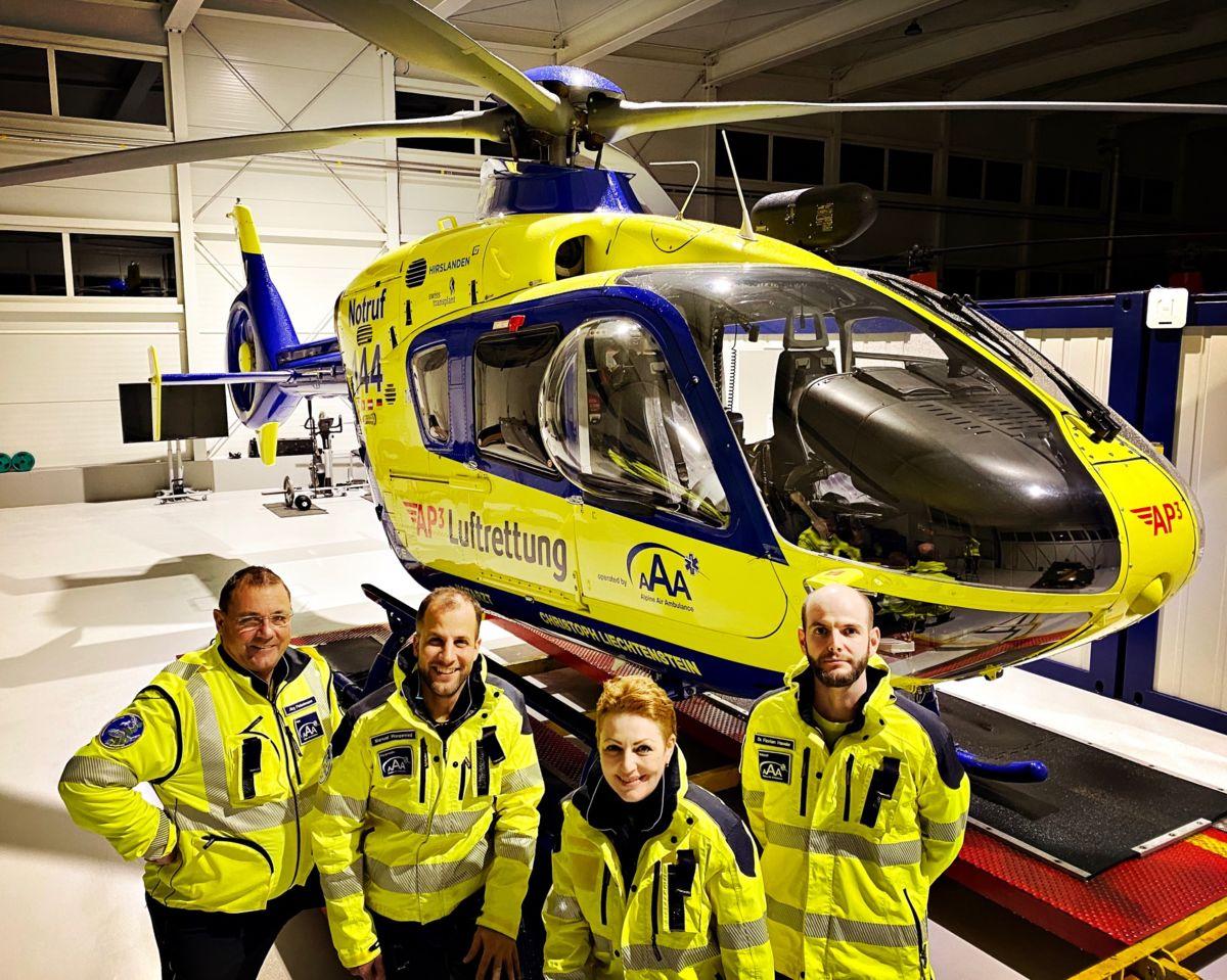 Keine Staats- und VIP Helikopter Landungen mehr in Balzers
