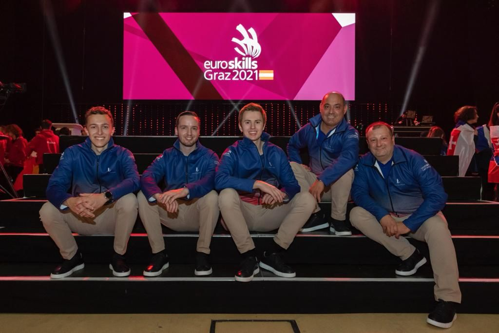 Liechtenstein zum ersten Mal an den EuroSkills vertreten